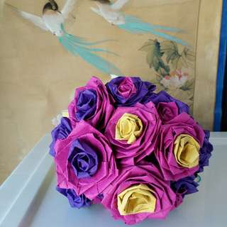 Roses Bouquet for immortal world