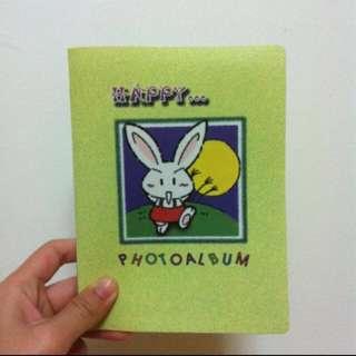 Rabbit Photo Album Book