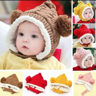 winter beanie for baby