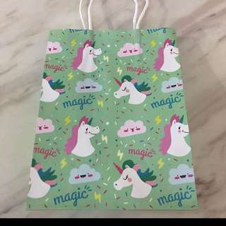 Goody bag - unicorns unisex color