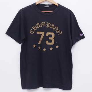 Size L CHAMPION Tshirt Black