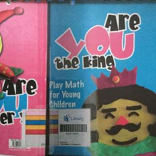 Are you the king or are you the joker? Play math for young children