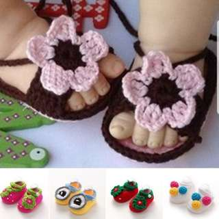 Baby knit shoe