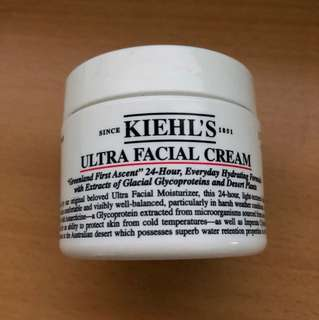Kiel's ultra facial cream