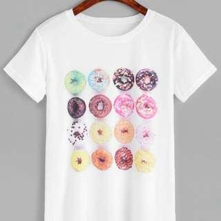 Donut Print Shirt