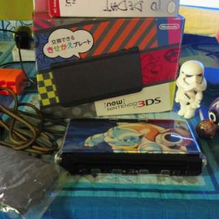 New 3ds regular 32gig downlodble special edition