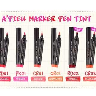 A'PIEU Marker Pen Tint