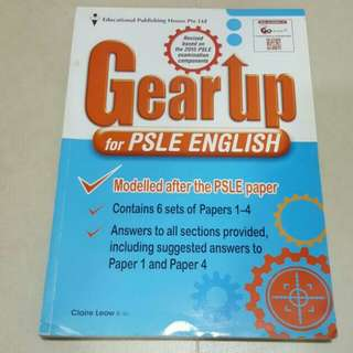 FIXED PRICE📬Gear Up For PSLE English Assessment Book