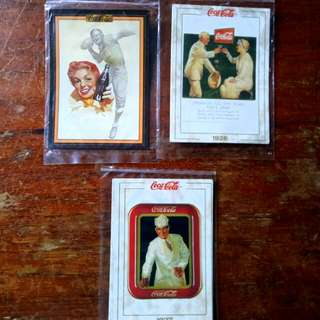 Vintage Coca-Cola Trading Cards,Lot # 5