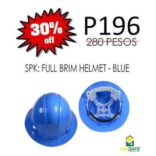 SPIDERKING® Full Brim Hard Hat