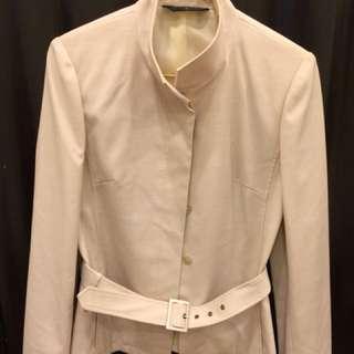 🚚 米色西裝外套(裙子贈送)