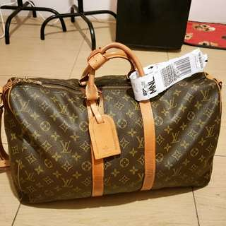 Louis Vuitton Keepall 45cm in Authentic grade Replica