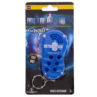 Doctor Who: In Your Pocket Voice Keychain *With Quotes and Sound Effects ~ Loot Crate Limited Edition Doctor Who Crate (Official BBC Merchandise)