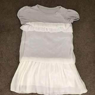 Frilly Top, dress
