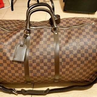 Louis Vuitton Keepall 60 Damier ebene in Authentic grade replica