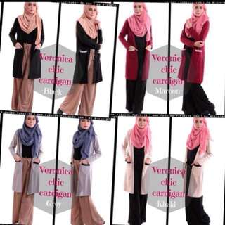 2for $20 Sale Muslimah cardigan hijaber