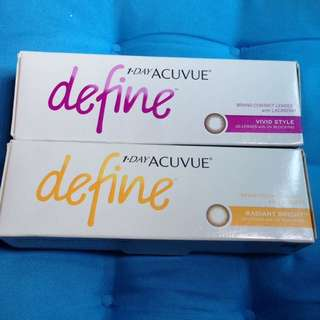 1 day acuvue color contact lenses