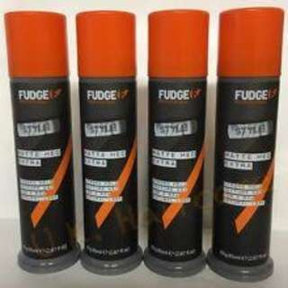 FREE POSTAGE: ORIGINAL Fudge Matte Hed Extra Hair Clay Wax Strong Hold PACKAGING