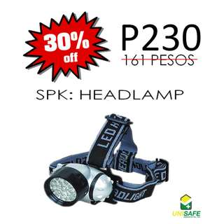 SPIDERKING® Head Lamp