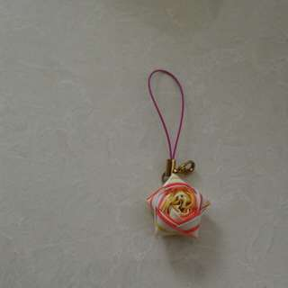 Straw Star keychain (handmade)