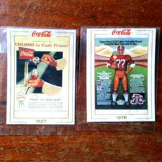 Coca-cola Trading Cards,lot #7