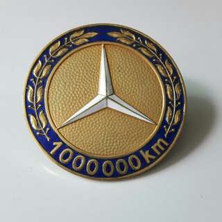 Limited Edition Original Mercedes-Benz Badge (Made in West Germany imprint)