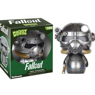 """Fallout Power Armor 3"""" Vinyl Figure ~ Dorbz (Funko Vinyl Collectible)"""