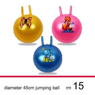 Diameter 45cm jumping ball