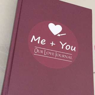 Me and You Journal for couples
