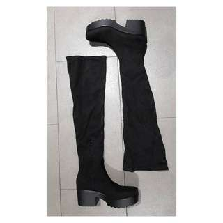 Pull and bear Knee High boots