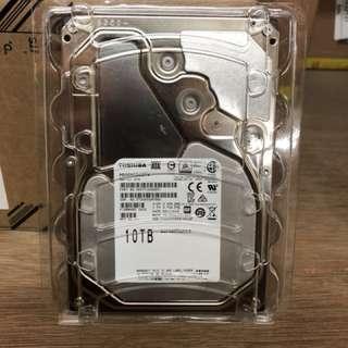 Toshiba enterprise/ surveillance/ NAS HDD 10TB
