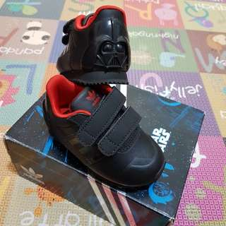 Authentic Adidas Kids ZX 700 Darth Vader CF I Shoe