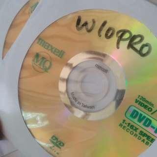 CD Windows 10 Pro