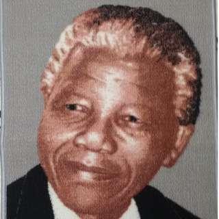 Nelson Mandela Decorative Wall Rug