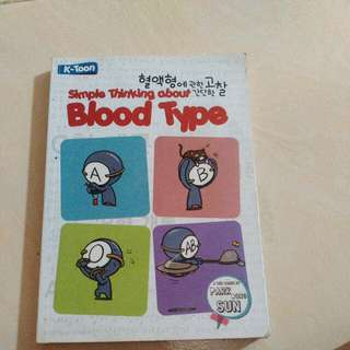 Simple Thinkinf about Blood Type (Edisi 1) by Park Dong Sun