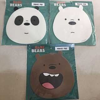 *INSTOCKS* We Bare Bears Mouse Pad