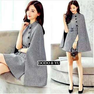 Midi Dress Blazer Korean