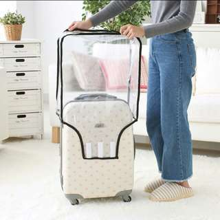 PVC Waterproof Transparent Luggage Suitcase Cover