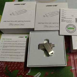 UGreen OTG Flash Drive With Lightning Connector