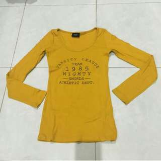 Yellow blouse bkk