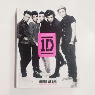 Official One Direction Our Story book