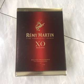 Empty box Remy Martin xo excellent box