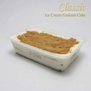 Ice cream graham cake