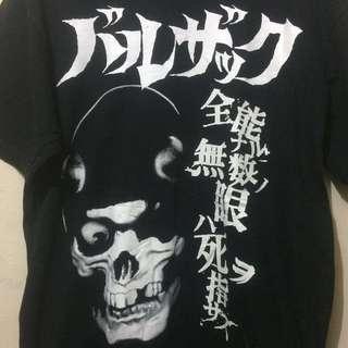 Ts Balzac 'skull' japan horror punk sz M (P70:L52(9/10)