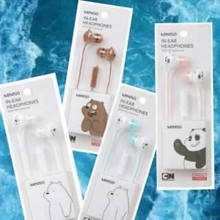 Miniso x We Bare Bear Headset