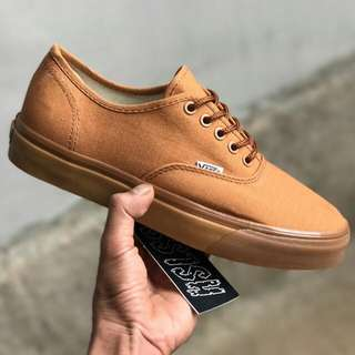 VANS AUTHENTIC 10 OZ C&L BROWN/GUMSOLE