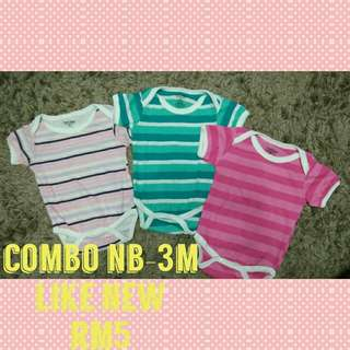 Nb-3m baby romper
