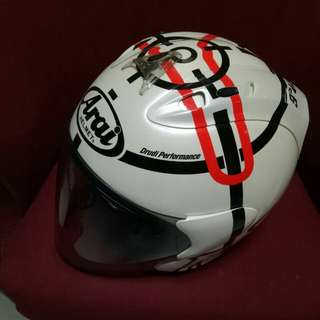 *Sellin on behalf* Authentic Arai Haga Monza (come with tinted visor only)