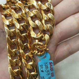 Real & pawnable gold chains