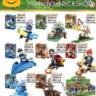 For Sale 8in1 Minifigures Building Blocks Toy